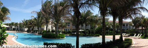 At the center of this resort-like community is a fantastic pool area - a great place to take in the Florida sun and maybe make some new friends.